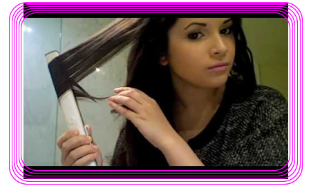 Learn How to Curl Hair with a Flat Iron | Beauty Tips Archives