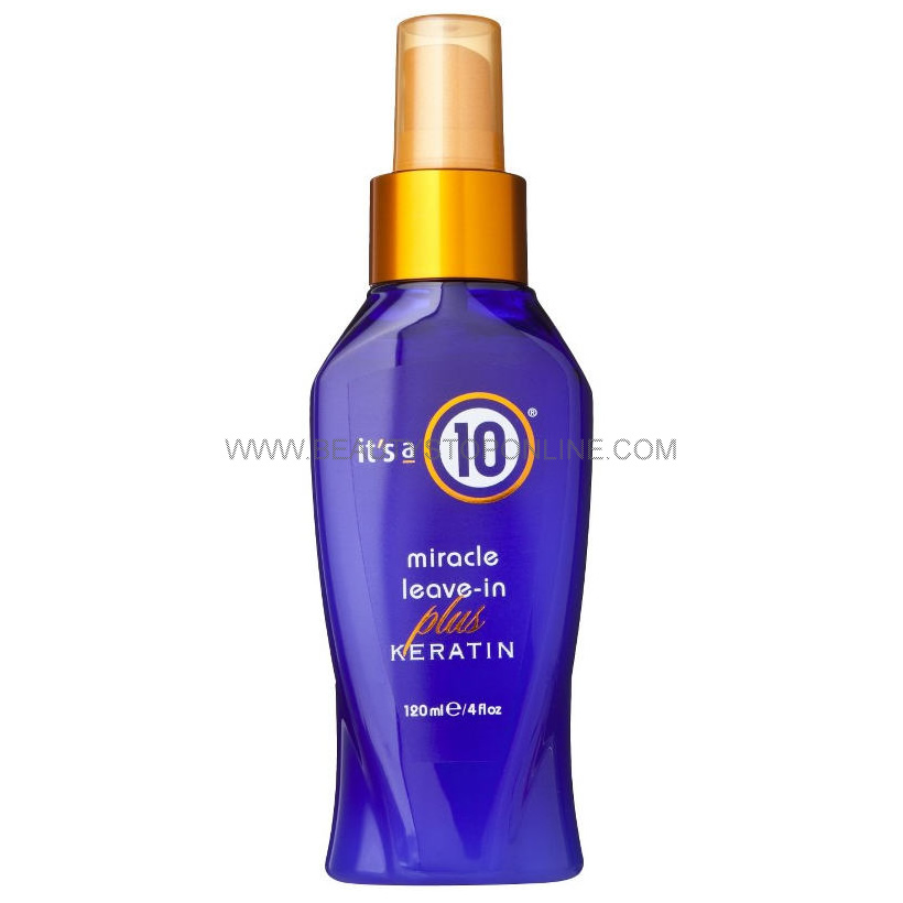 It's a 10 Miracle Leave-In Plus Keratin - 4 oz