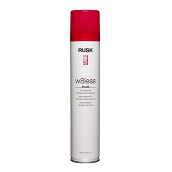 Rusk W8less Plus Extra Strong Hold Shaping and Control Hairspray - 1.5 oz