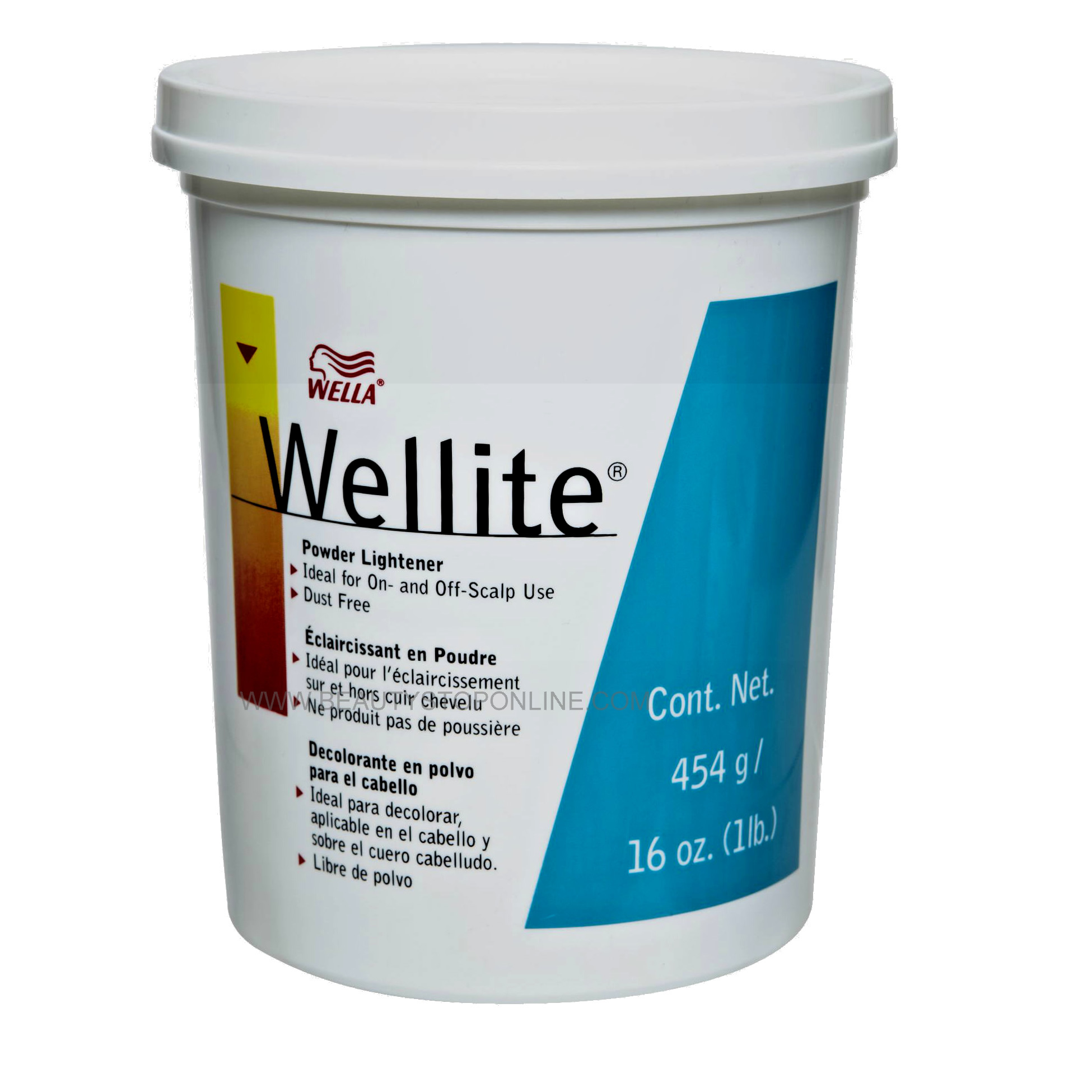 Wella Wellite Powder Lightener 16 oz Tub