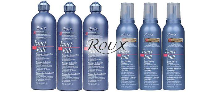 Roux Fanci-Full Rinse Color Chart