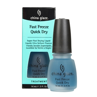 China Glaze Fast Freeze Quick Dry 70268 Beauty Stop Online