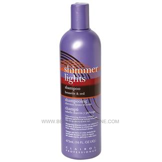 Clairol Shimmer Lights Shampoo Brunette And Red 16 Oz