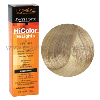 L Oreal Excellence Hicolor Blonde Ash Blonde Beauty Stop