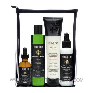 Philip B Four Step Hair And Scalp Facial Treatment Set