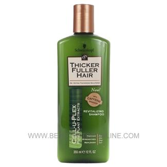 Thicker Fuller Hair Revitalizing Shampoo 12 Oz Beauty