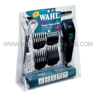 wahl home haircutting kit wahl deluxe home haircut clipper kit 8645 500 4093