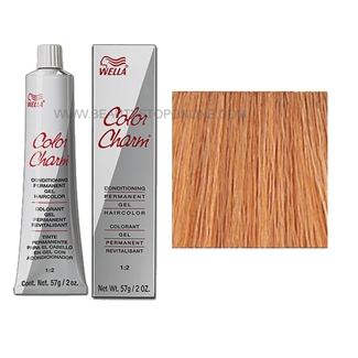 Wella Color Charm Permanent Gel 8rg 729 Titan Red Blonde