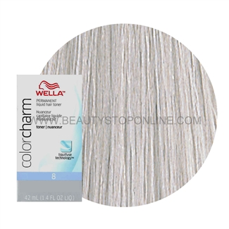 Wella Color Charm Liquid Toner T 14 Pale Ash Blonde