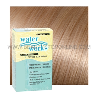 Water Works Sandy Blonde 35 Permanent Powder Hair Color